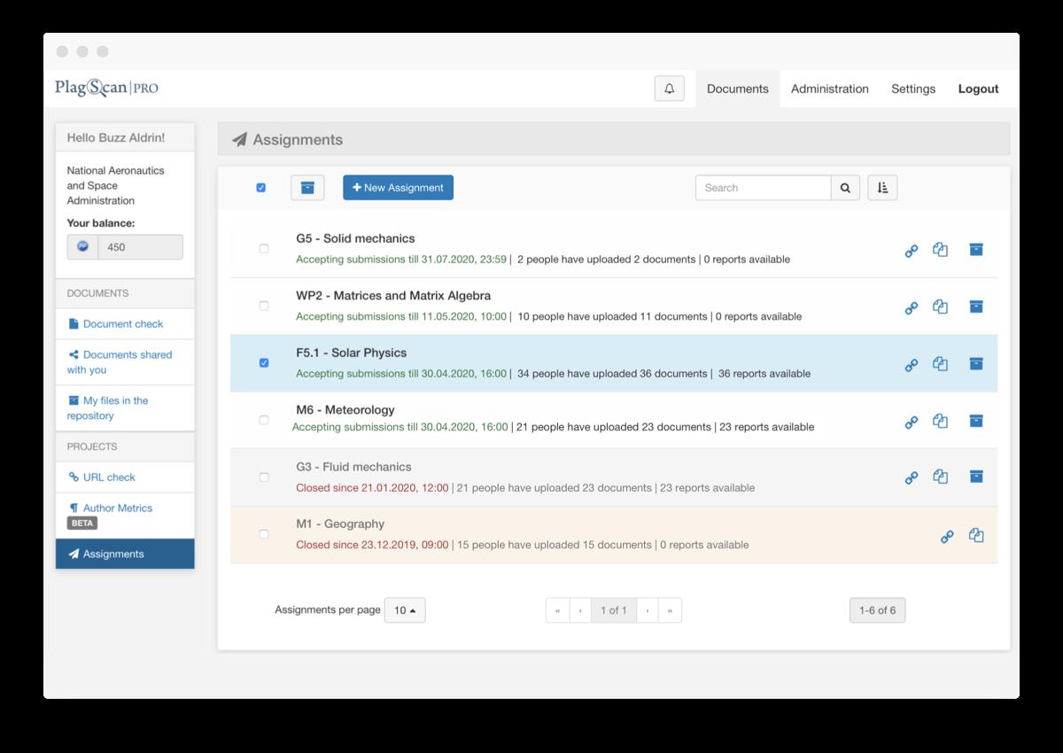 Assignment Screenshot