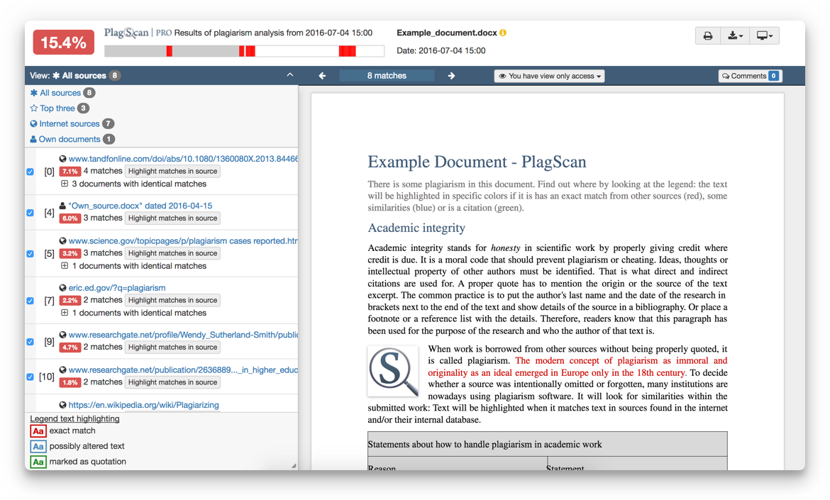 Image of Interactive Browser Reports in english