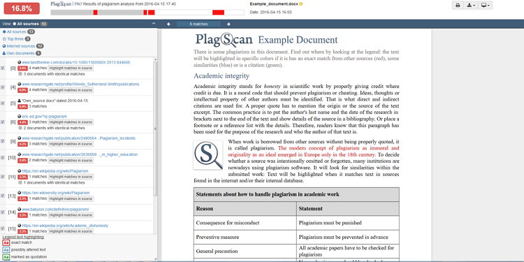 Plagiarism Checker & Citation Assistant